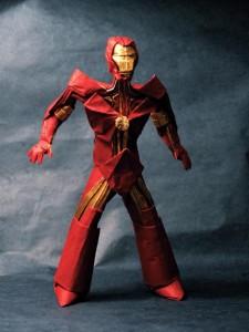 Железный человек из бумаги