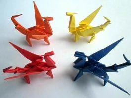 Приемы складывания в оригами