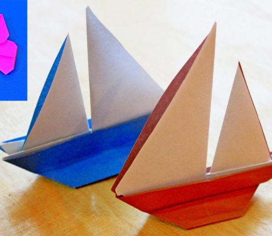Схема оригами «Лодка-2″