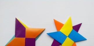 Сюрикен оригами