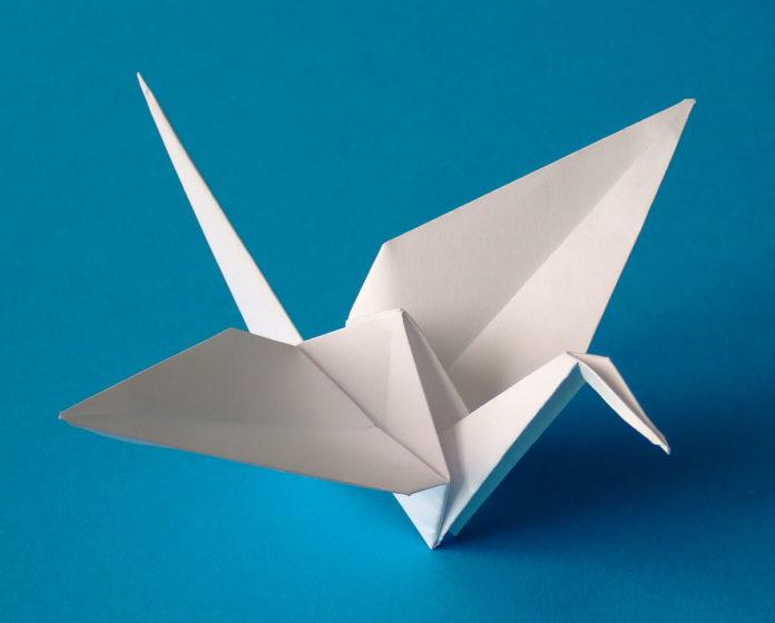 Условные знаки и обозначения оригами
