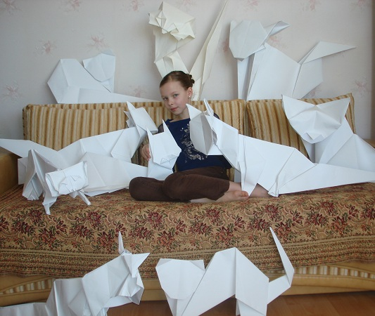 Рекорды оригами