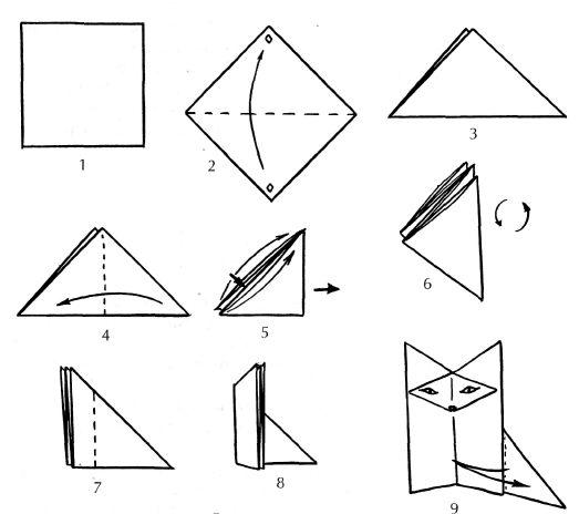 Сказка-оригами о Нарциссе и Розе