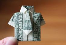 Оригами из денег