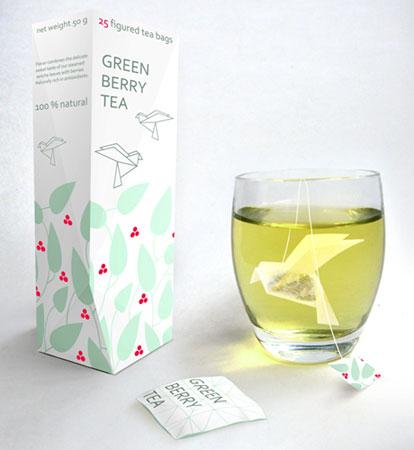Оригами в стакане