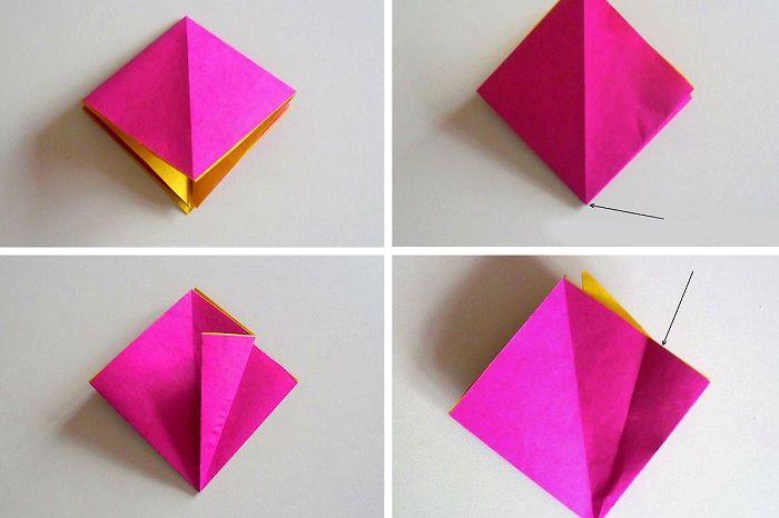 Кармашек из бумаги
