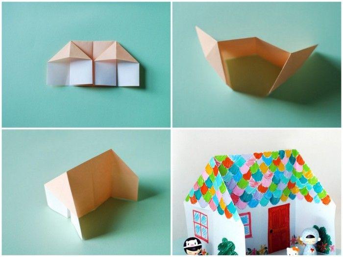 Домик-оригами