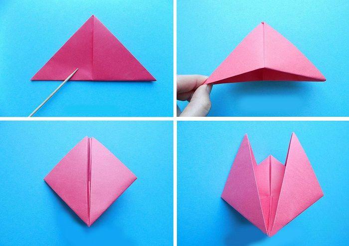 Кораблик-оригами