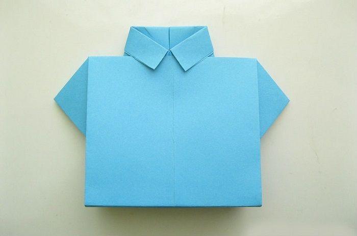 Рубашка - оригами