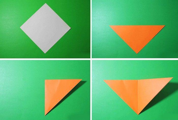 Лисичка-оригами поэтапно