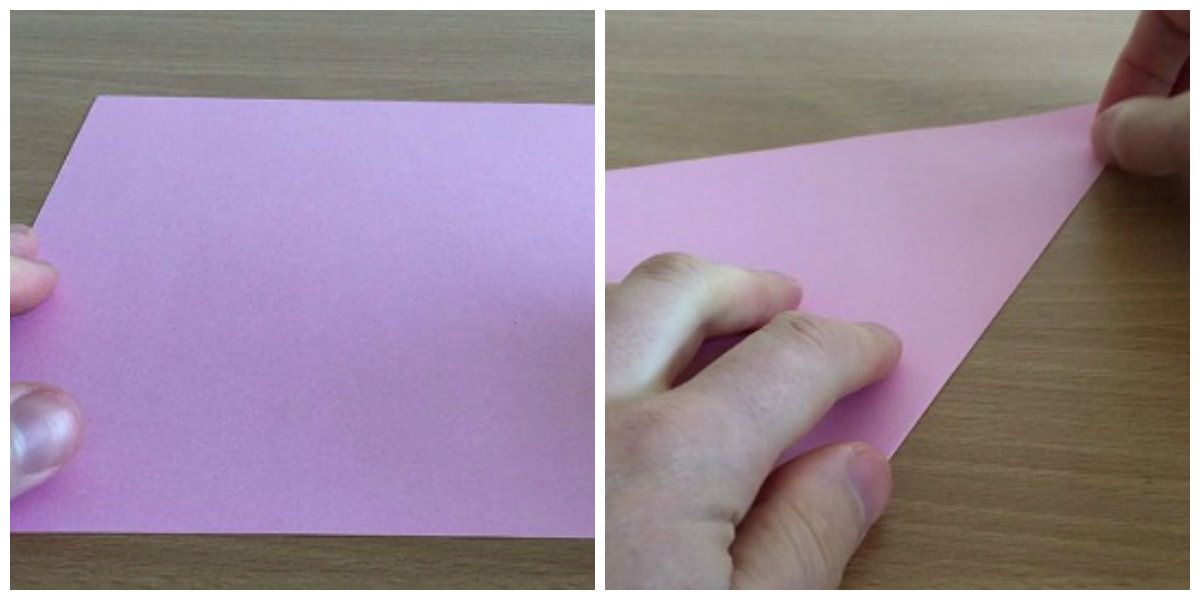 Сборка лисички из бумаги поэтапно