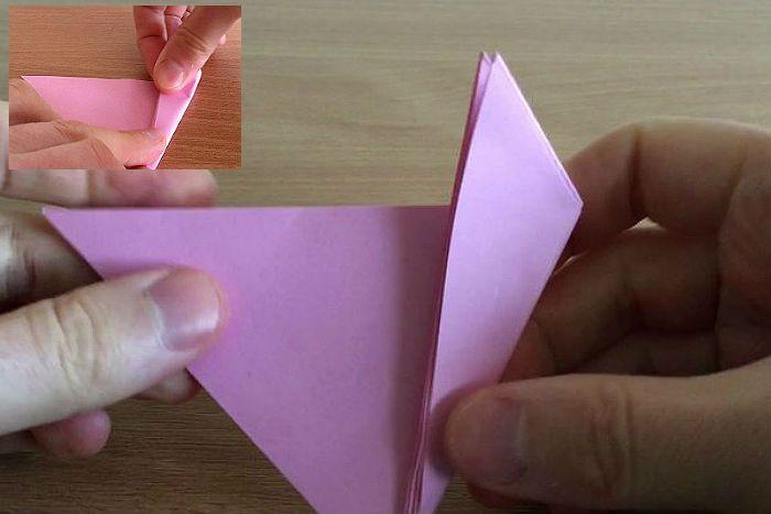 Развернуть треугольник