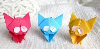 Простые поделки-оригами