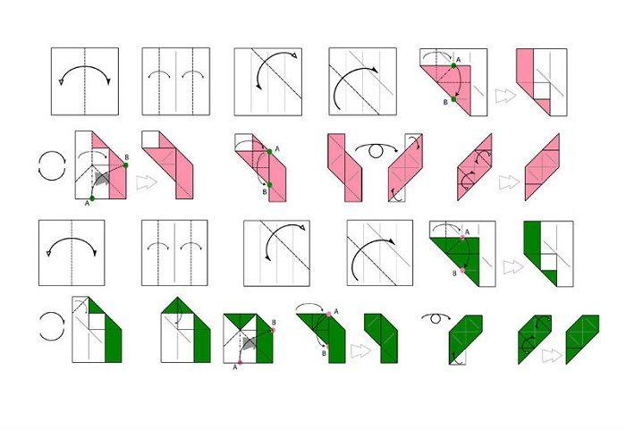 Магический куб - схема