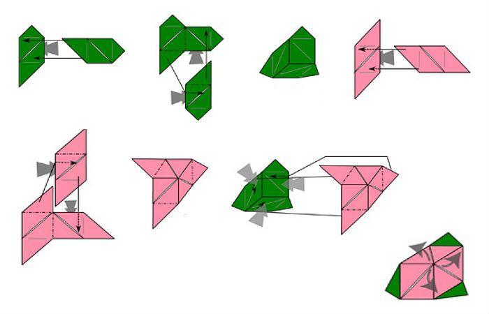 Магический куб пошаговая схема