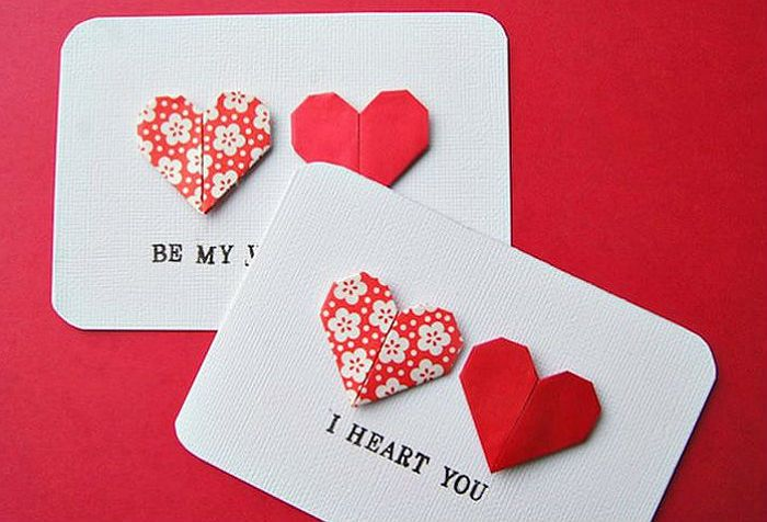Как сделать сердечко из бумаги