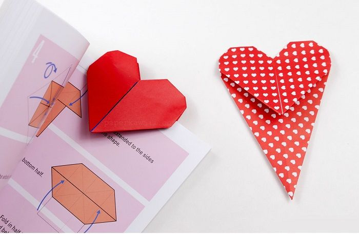 Сердечко -закладка