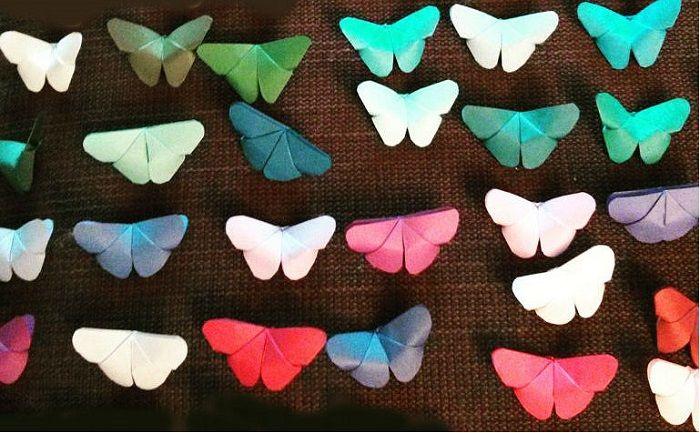 Как сложить бабочку