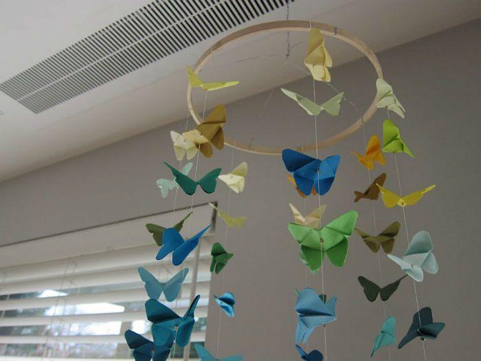 Бабочки - подвески