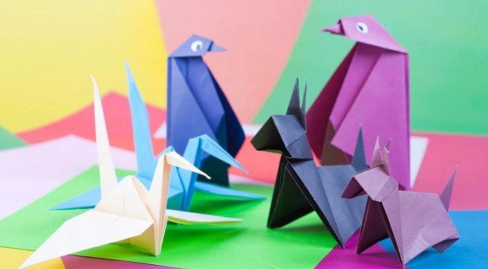 Простое оригами для дошкольников