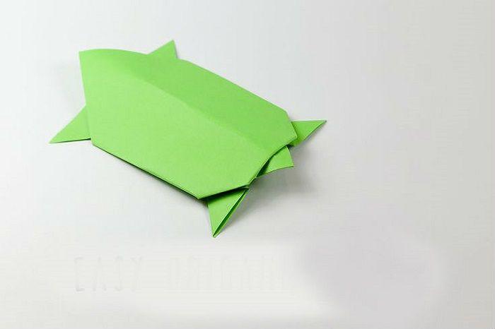 Черепашка оригами