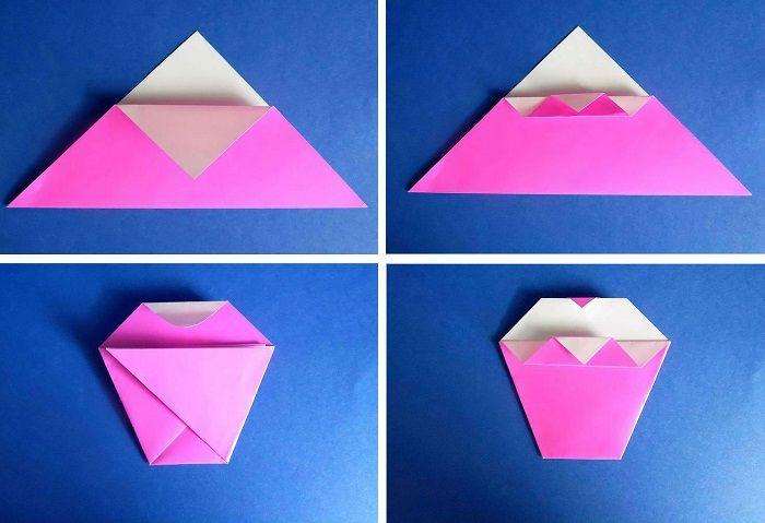 Оригами и открытки, для свадебной открытки