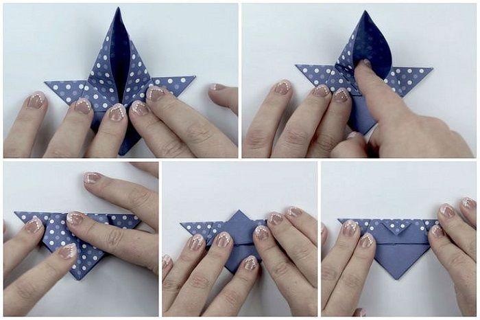 Коробочка из крафт-бумаги: шаги 17-21