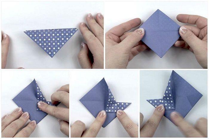 Коробочка из крафт-бумаги: шаги 10-14