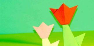 Оригами для детей младшего возраста