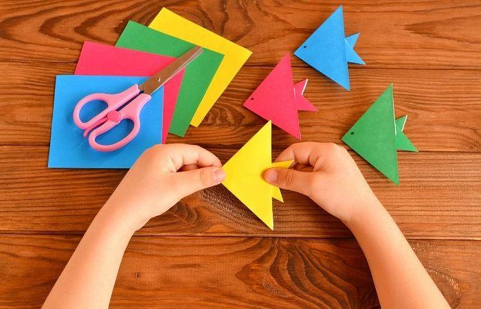 Как сложить оригами ребенку