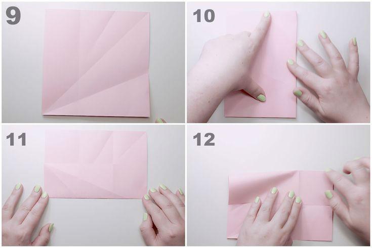 Пошаговая сборка конверта с сюрпризом