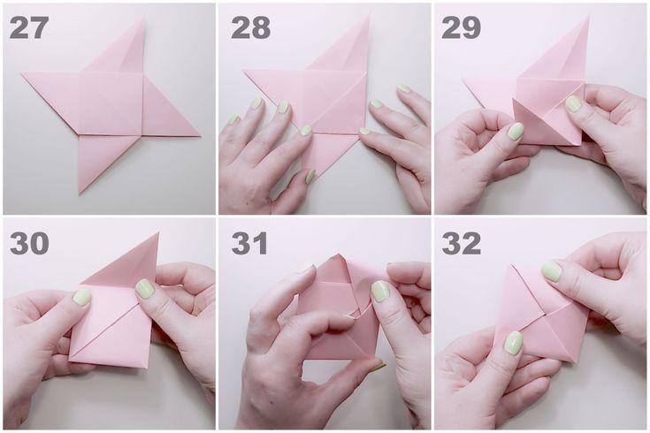 Оригами конвертик