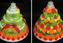 Торт Цветочная клумба
