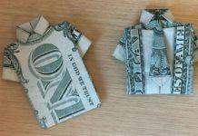 Как сложить из бумаги рубашку