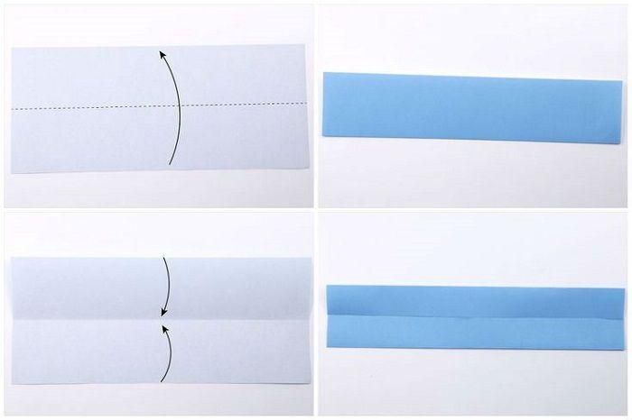 Модель манигами: шаги 1-4