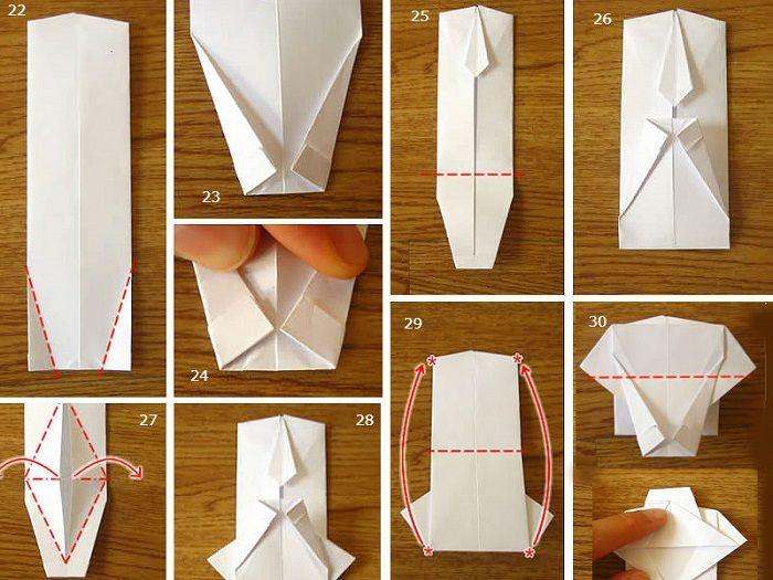 Инструкция по сборке рубашки оргиами