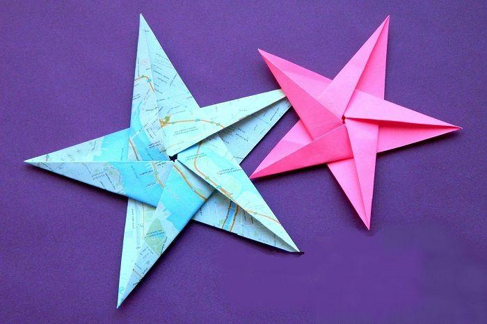 Звезда из пятиугольника