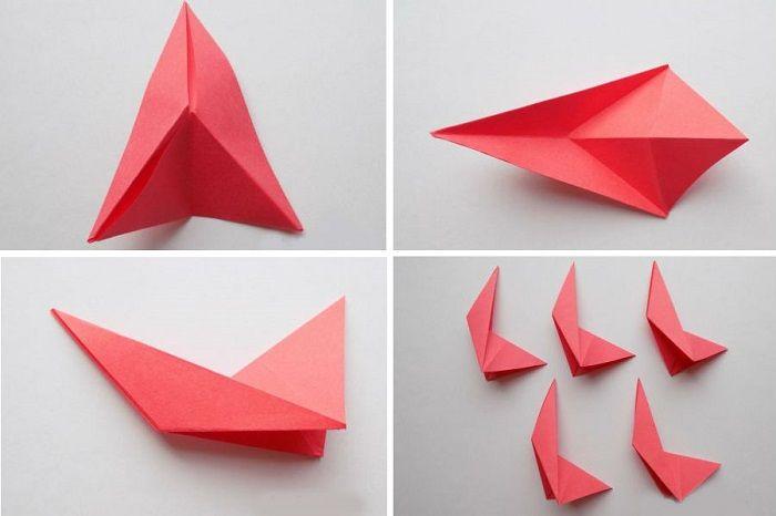 Модули для звезды оригами