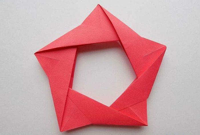 Модульная звезда оригами