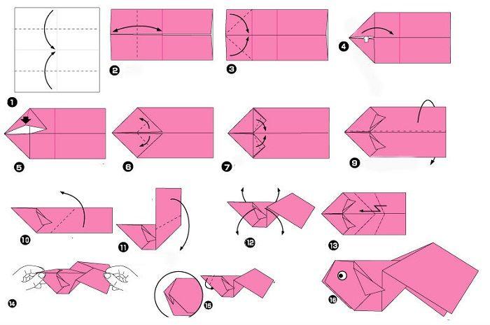 Аквариумная рыбка (схема)