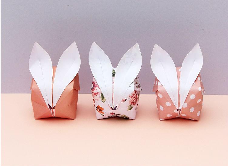 Оригами для начинающих: Декоративный кролик