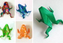 Оригами Лягушка