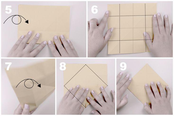 Звёздчатый октаэдрСхема сборки, шаг 2