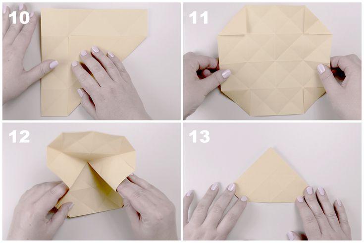 Звёздчатый октаэдрСхема сборки, шаг 3