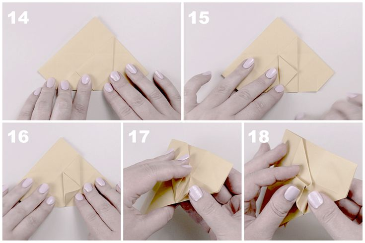 Звёздчатый октаэдрСхема сборки, шаг 4