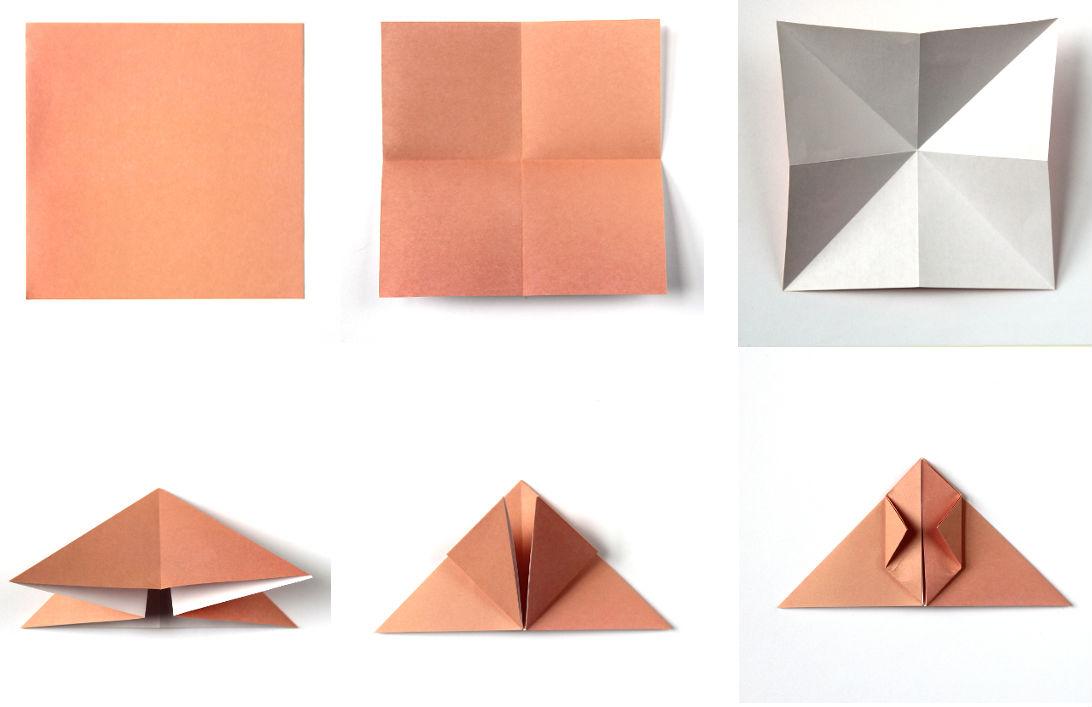Декоративный кролик: схема сборки, шаг 1