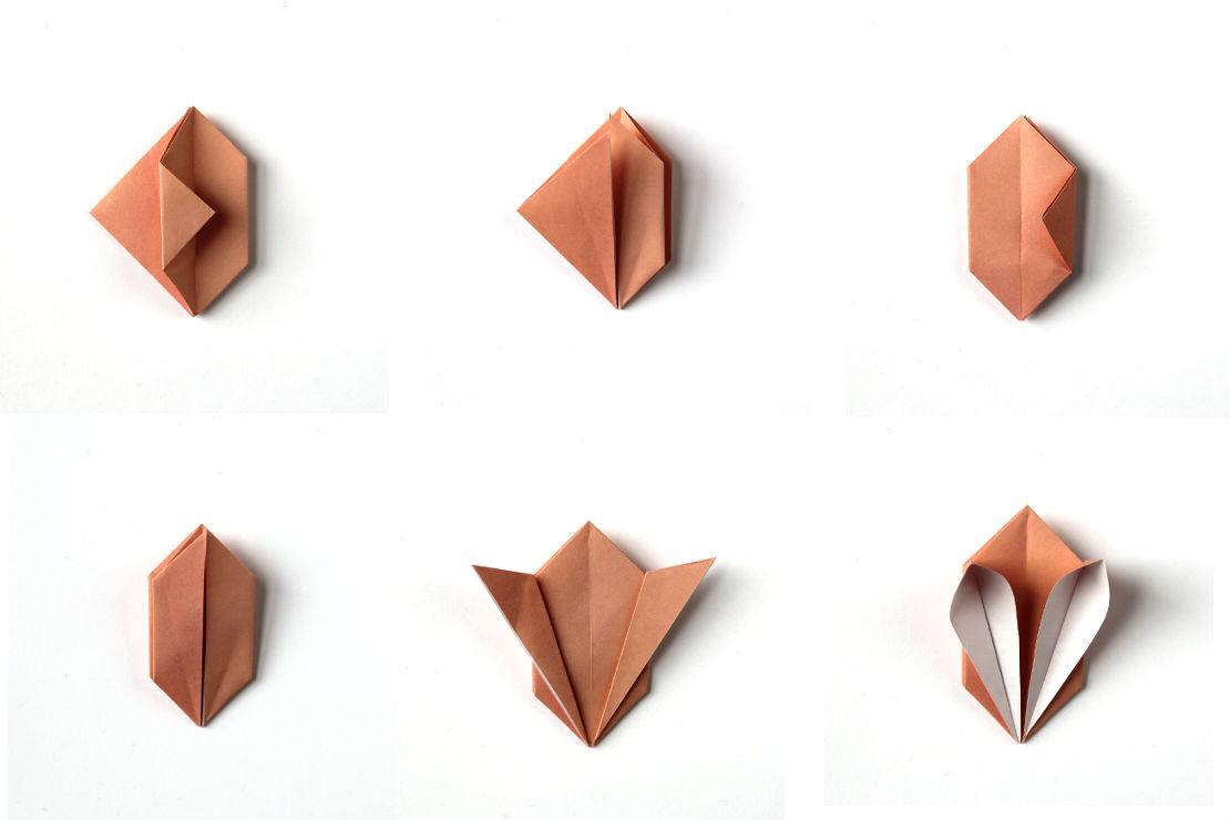 Декоративный кролик: схема сборки, шаг 3