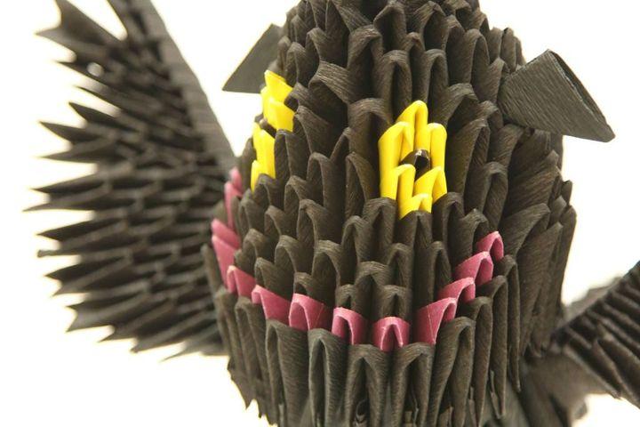 Сидящий Беззубик: сборка деталей