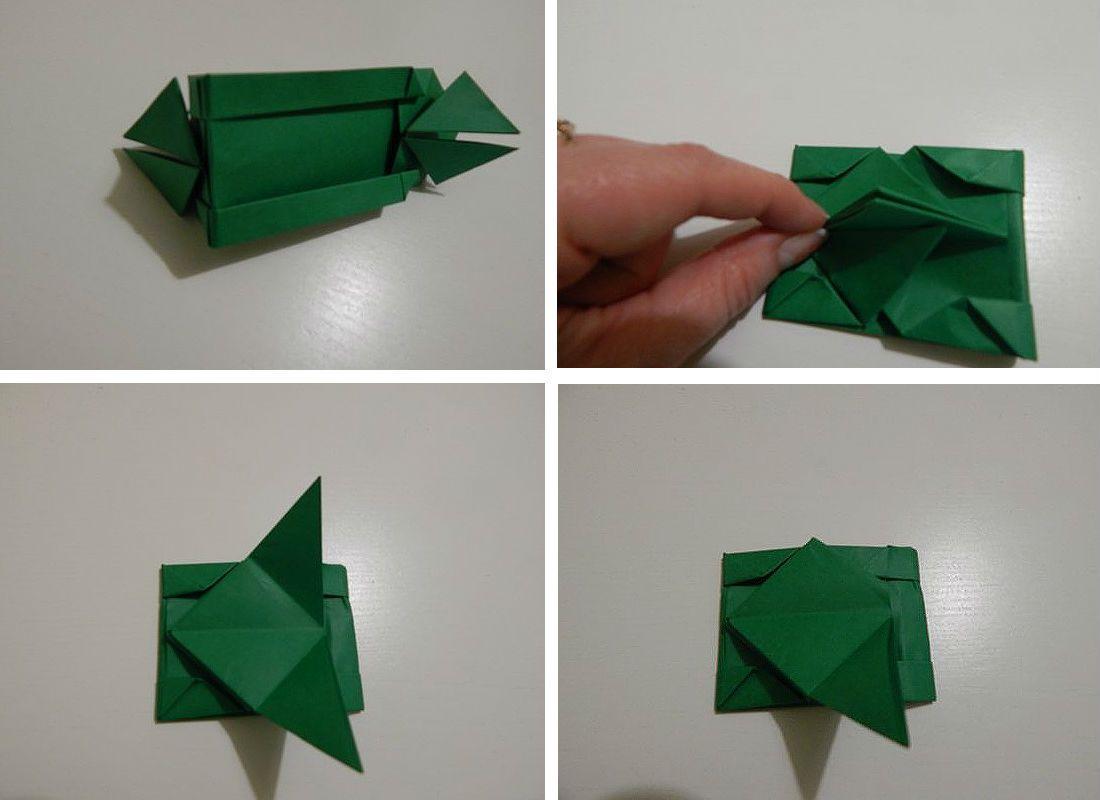 Сборка оригами M1A1 Abrams