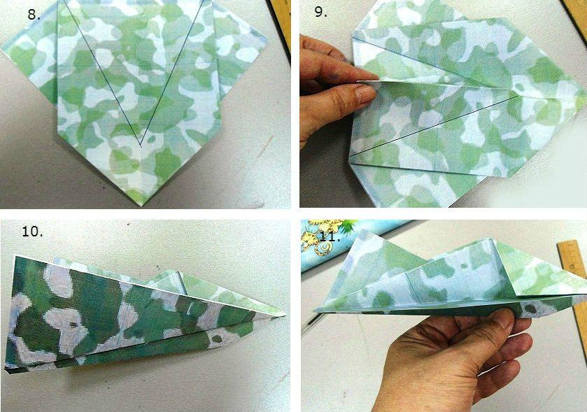 Оригами «Военная техника»